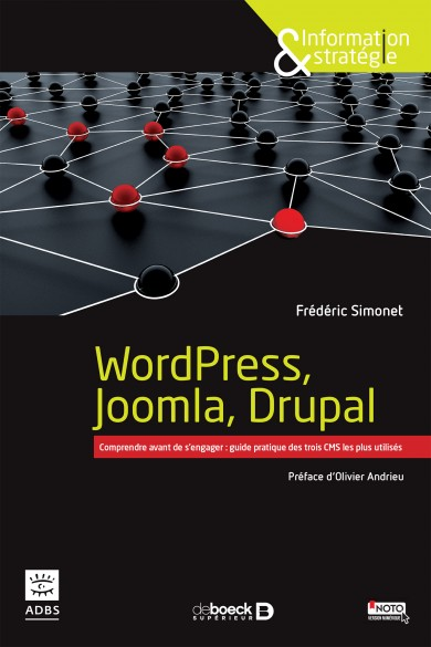 Couverture ouvrage WodPress, Joomla, Drupal